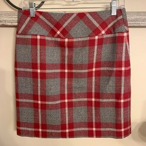 NWT EDDIE BAUER PLAID SKIRT